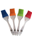 Silicone Basting Brush and Pastry Brush (Set of 4) for Kitchen, BBQ, Grill, Baking and Cooking …