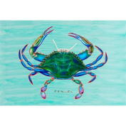 Betsy Drake PM004 Female Blue Crab Place Mat, Set of 4