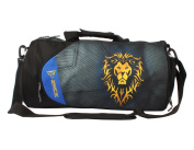 Red Plume Functional Basketball Sports Bags, Fashion Hero Character Printed Travel Gym Fitness Bag