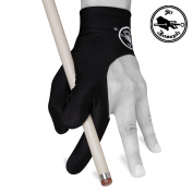 SIR JOSEPH Billiard POOL CUE GLOVE - Black - Fits either hand