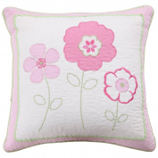 Greta Pastel Girl Floral Pattern Stuffed Plush Toy Pillow