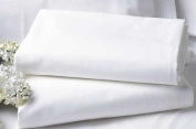 BRIGHTLINEN 1PC Flat Sheet (White Solid, King) 100% Egyptian Cotton Hotel Quality 400 Thread Count