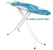 Mabel Home – Adjustable Height, Deluxe Heavy-Duty, 4-leg, ironing Board, + Extra Cover