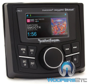 Rockford PMX-3 Punch Marine/Motorsport Compact Digital Media Receiver w/ 6.9cm Display