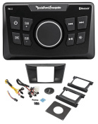 Rockford Fosgate Yamaha YXZ1000R Digital Media Bluetooth Receiver + Instal Kit