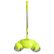 Floor Dust Sweeper SANNYSIS New Arrival 360 Rotary Home Use Crab Manual Telescopic Sweeper