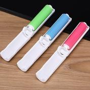 2 Pcs Reusable Sticky Picker Set Cleaner Brush Magic Folding Pocket Travel Dust Pet Hair Dandruff Remover Sticky