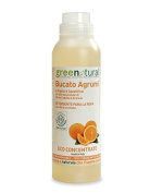 GREEN NATURAL - Liquid Laundry Organic Detergent - Removes Stains and Sanitises - with Essential Oil of Litsea Cubeba and Orange - for Delicate Skin and Low Environmental Impact - 500 ml