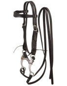 King Series Pony Embossed Browband Headstall