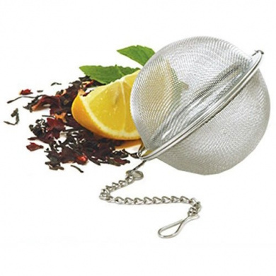 Tea Box Elegant Ball Infuser (Tea Infuser, Tea strainer, Tea filter, Tea maker, Tea ball, Stainless steel)