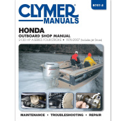 Clymer Honda 2-130 HP Four-Stroke Outboards (Includes Jet Drives) 1976-2005