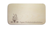 'Papas Frühstücksb Board' The Perfect Gift for Father's Day Man Day Christmas Easter or Birthday