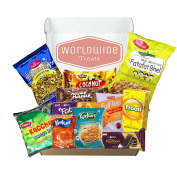 Indian Snack Mix Package by WorldwideTreats