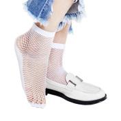 Women Socks, Gotd Sexy Lace Fishnet Net Plain Top-Ankle Short Socks Stylish