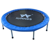 KLB Sport Indoor Foldable Trampoline for Age 8+, Fitness Trampoline for Adult