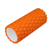 """Enkeeo Foam Roller 13"""" × 6"""" EVA with Grid Design Muscle Rollers for Deep Tissue Myofascial Release, Sports Massage and Recovery, Trigger Point Therapy, Pilates & Yoga"""