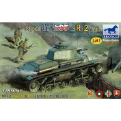 Bronco Models CB35105 2 in 1 Tank – Model Kit Skoda LT VZ35 and N (Eastern European Axis forces â .