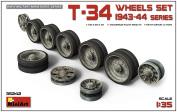Miniart 1:35 - T-34 Wheels Set 1943-44 Series