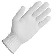 Zenport GN026 10 Gramme Tetoron Poly Fibre Full Finger Glove Liners, 12-Pair