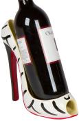 Trademark Innovations 20cm x 18cm H High Heel Wine Bottle Holder - . Conversation Starter Wine Rack by Zebra