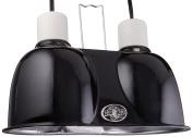 Zoo Med Mini Combo Deep Dome Lamp Fixture, Black