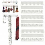 Necklace Earring Jewellery Organiser Wall Hanging Display Stand Rack Holder