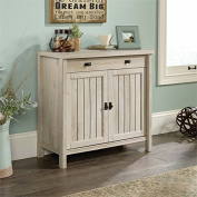 Sauder Costa Accent Chest in Chalked Chestnut
