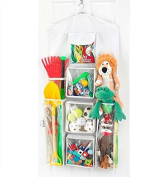 Aotuno Double-Sided Hanging Gift Wrap Organiser Storage