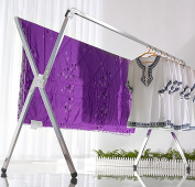 Decor Hut Laundry drying rack, foldable, indoor and outdoor use, folds flat easy storage