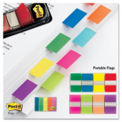 Post-it Flags Products - Post-it Flags - Standard Tape Flags in Dispenser, Blue, 100 Flags/Dispenser - Sold As 1 Pack - Get attention and get results! - Mark and colour-code. - All flags are removable and repositionable. - With the convenient pop-up di ..