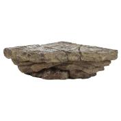 Trenton Gifts Rock Design Corner Shelf