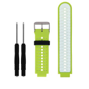 Soft Silicone Replacement Watch Band for Garmin Forerunner 235 / 220 / 230 / 620 / 630 / 735 Smart Watch