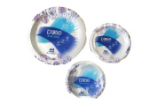 Dixie Everyday Paper Plate & Bowl Bundle, Large Plate (44 ct), Small Plate (50 ct) and Bowl
