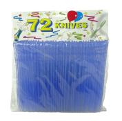 720 Plastic Knives (10 packets of 72) - Wholesale Offer For Caterers, Summer Festivals, Retailers