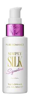 Simply Silk Toy-Friendly Lubricant, For All Sex Toys by Pure Romance
