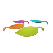 CH Multipurpose Cup Covers Small Plate Sauce Leaf Cup Lid Snack Plate Cup Cover Creative Teacups Tools