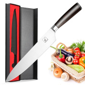 Imarku 25cm Pro Chef's Knife -High Carbon German Steel Cook's Knife with Ergonomic Handle