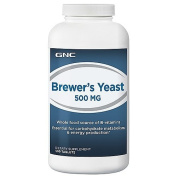 GNC Brewers Yeast 500 MG 500 Tablets