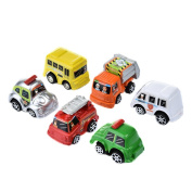 Per Toy Cars Gift Pack 6pcs Pull Back Cars Vehicles Toys for Baby Boys