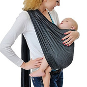 Kangaroobaby® Breathable Baby Carrier with Polyester and Quickdry Fabrics Material Indoor Outdoor Travel Cotton Comfort Safety Newborn Infant Child Baby Sling Carrier