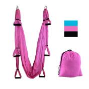 Yoga Inversion Sling Swing Trapeze,Aerial Anti-Gravity Yoga Hammock Swing Trapeze Fitness Inversion Pilates