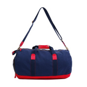 Oflamn Travel Duffel Bag - Sports Gym Bag with Shoe Compartment - Canvas Weekend Holdall for Women & Men