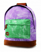 Mi-Pac Tie Dye Purple and Green Rucksack - Purple