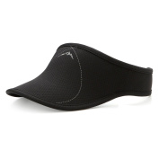 UShake Sports Sun Visor for Man or Woman in Golf Running Jogging with Black/White/Rose Red Colours