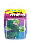 Dinsmores Mini Dual Swimfeeder (Pack of 2) - Green, 28 g