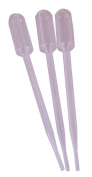 Tipton Disposable Pipettes (Pack of 12) - Transparent, 15cm