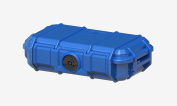 Seahorse Protective Equipment Cases Watertight, Keyed Plastic Lock Camera Case, Blue