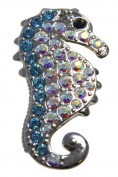 Navika Seahorse Crystal Ball Marker with Hat Clip
