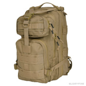 GLORYFIRE Tactical Backpack Compact Assault Pack for Outdoor Hiking Camping Trekking Hunting