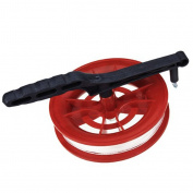 New Fire Wheel Kite Winder Tool Reel Handle with 100M Twisted String Line